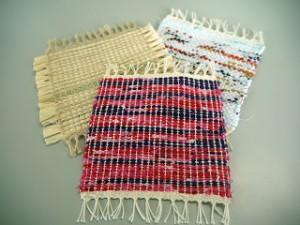 手織りコースター